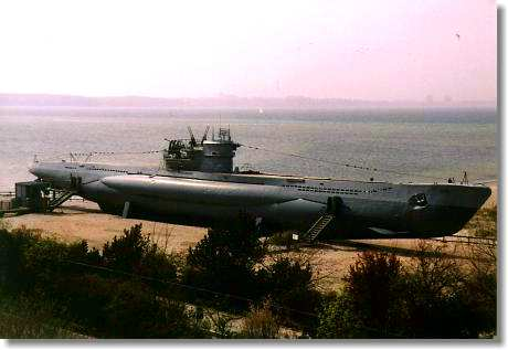 U-Boot U 995 in Laboe