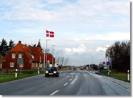 Grenzübergang Flensburg Dänemark