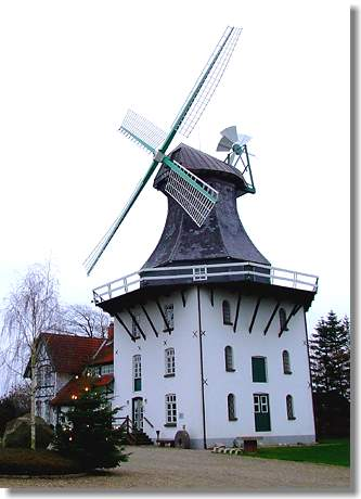 Mühle -Anna- in Rieseby/Norby