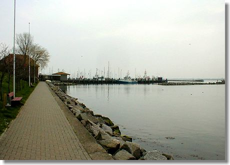 Promenade in Maasholm